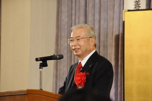 記念講演(能勢鳥取大学長)